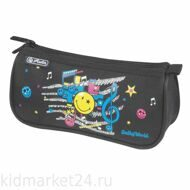 Пенал-косметичка Herlitz  Triangular SmileyWorld Pop