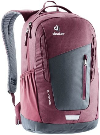 Рюкзак Deuter 2020 Stepout 16 серо-бордовый