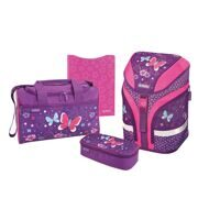 Ранец Herlitz Motion Plus Purple Butterfly с наполнением