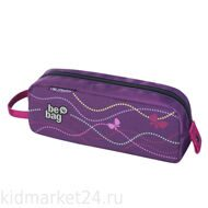 Пенал-косметичка Herlitz  Be.Bag QUATTRO Butterfly Power