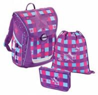 Ранец Hama Step By Step BaggyMax Fabby Pink Star 3 предмета