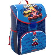 Ранец ErichKrause Marvel ErgoLine 15 L. Hot Wheels. Faster